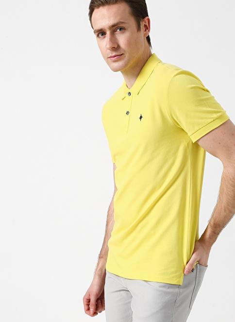 North Of Navy Tişört Sarı